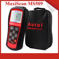 MS509 OBDII detector de coche lector de tarjetas de lectura lector de códigos de error del coche CAN BUS OBD2 EOBD con chip FT232 envío gratis