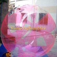 Walk on Water Ball TPU Migliore qualità Umana Acqua Walking Ball gonfiabile Nuovo design 1.5m 2m 2.5m 3m Consegna gratuita
