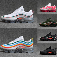 2018 New 97 undefeated OG Black White Red Pink Gray 3M Premi...