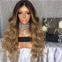 Free Shipping Honey Blonde Lace Front Wigs Glueless Heat Res...