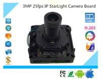 H. 265 H. 264 3. 0MP 2048*1536 IP StarLight Camera Module Board...