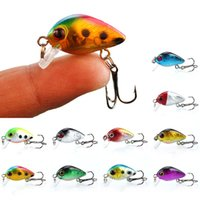 10- color 2. 6cm 1. 8g Crank Plastic Hard Baits & Lures Fishing...