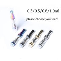 Newest G10 Ceramic Coils Cartridges No Leaking Pyrex Glass T...