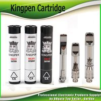 Newest Kingpen 710 Cartridge 0. 5ml 1. 0ml Dual Cotton and Cer...