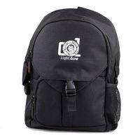 Lightdow Su Geçirmez Açık Kamera Fotoğraf Çantası Çok Fonksiyonlu Kamera Omuz Sırt Çantası Seyahat Kanon Nikon DSLR Kameralar Için Fotoğraf Çantası