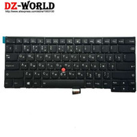 Nieuw / Orig voor ThinkPad T440 T440S T431S T440P T450 T450S T460 Backlit Toetsenbord Russische Backlight Teclado 04x0124 04x0162 0c43929