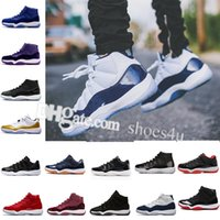 wholesale Cheap 11 Basketball Shoes men womens high gym red ...