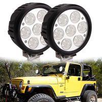 6st Fabrikspris 6 tum 70W CREE LED Körningslampa LED Ljus, Off Road LED-arbetsljus, 4x4