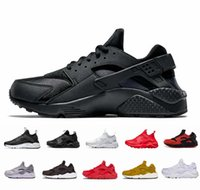 2018 new Air Huarache 4. 0 1. 0 Classic Triple White Black Men...