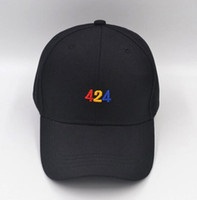 424 Lettere Ricamo Hip Hop Casual Designer Cappelli Uomo Donna Ball Caps Unisex Cappelli stile semplice