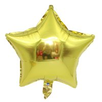 18inch Five- pointed star Aluminum foil balloons wedding deco...