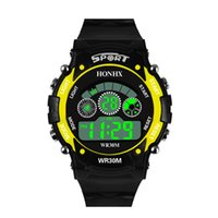 Mens New Design de Moda Digital LED Quartzo Analógico Alarme Data Sports Relógio de Pulso Relojes Hombre 2018