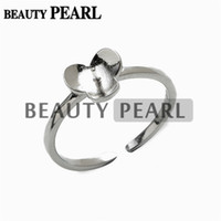 5 Pieces Flower Ring Tiny Petal 925 Sterling Silver Blanks f...