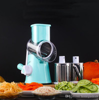 Mandoline Slicer Cortador de verduras Manual Patata Juliana Zanahoria Slicer Rallador de queso Cuchillas de acero inoxidable Herramienta de cocina