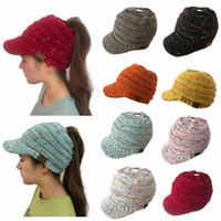 10 colors CC Beanies Hats Caps Women Winter Knitted Wool Cap...