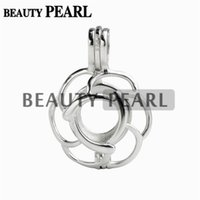 5 Pieces Pick A Pearl Locket Wish Love 925 Sterling Silver F...