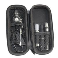 3 1 Fermuar Kılıf Wax Vaporizer Kalem Setleri Kuru Ot E- sigara MT3 Atomizer Cam buharlaştırıcı EVOD Pil içinde
