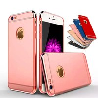 Luxury 3 in 1 Shockproof Case For iPhone X 8 7 6 6S Plus Cas...