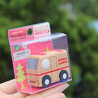 أطفال مركبات صغيرة لعبة عشوائية اللون متعدد نمط الإبداعية نموذج سيارة خشبية الطفل أطفال التعليمية لعبة هدية عيد