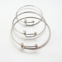 Free shipping Beads push pull bracelet coil push pull bangle...