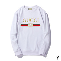 1c1101ce242 Fashion Designer Luxury Women Long Sleeve Hoodie Sweatshirt Cotton Print  Hoodies   Sweatshirts Hip Hop Pullover T-shirt Sweater