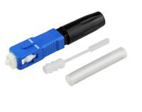 FTTH для ПК/разъем оптического волокна покрыты провода соединения СК врезать-тип быстрый разъем SC оптического волокна быстрый разъемы