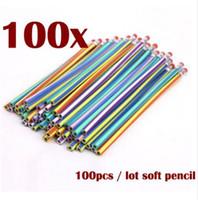 100 pz 50 pz 10 pz morbido flessibile Bendy matite banda magica bambini bambini scuola divertimento piegare matita morbida matita cancelleria studente
