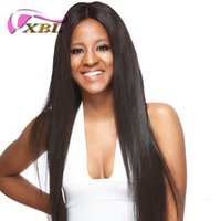 xblhair 360 full lace human hair wigs pre plucked silky stra...