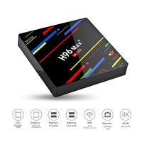 H96 Max+ Android 8. 1 TV Box Quad Core 4GB 32GB Rockchip RK33...