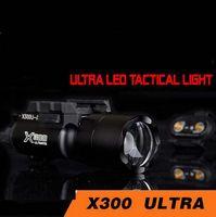 Страйкбол тактический X300 ультра огни пистолет lanterna страйкбол X300U Fashlight 370 люмен с Пикатинни
