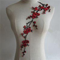 공예 칼라 플라워 베니스 스팽글 꽃 수 놓은 Applique 트림 장식 레이스 목선 칼라 봉제 10pcs