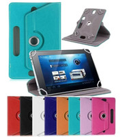 Universal Tablet PC Case 360 Degree Rotating Case PU Leather...