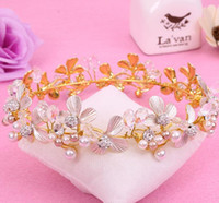 Alloy diamond jewelry, bridal crown, Wedding Bridal headwear