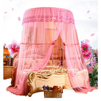 European Style Large Size Round Hung Dome Mosquito Net Fine ...