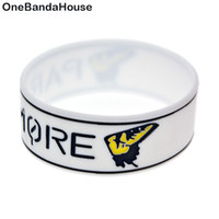 1PC 1 Inch Wide Paramore Silicone Wristband A Great Way To S...