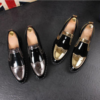 2017 New style Italy fashion design mens loafers spring dres...