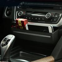 Car Organisateur Boîte modifié Accessoires Auto pour BMW 3 4 série X3 X4 3GT F30 F34 Console CD Panneau de remplacement Buckle Boîte de rangement Car Styling