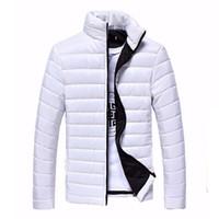 2017 Autunno Inverno Sportswear Mens Giacche e cappotti sportivi Capispalla sottile Capispalla in cotone con cerniera per uomo