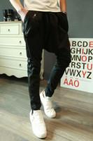Nouveaux hommes de sport Han Version Hip Hop tendance à résister à Baggy Pants Pantalon de sport Casual Pantalons de survêtement Hiphop Pantalon Commerce taille asiatique en gros