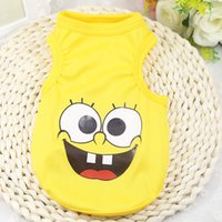 (30pc  Lot )New Pet Dog Summer Cartoon Tshirt Vest Clothes P...