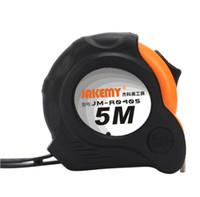 جديد 5 متر الذاتي قفل قياس الأشرطة المغناطيسية مع حزام اليد حزام كليب الوجهين شريط قياس قابل للسحب سهلة قراءة حالة المطاط