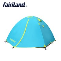 3 season 4 person camping tent double layer Wholesale outdoo...