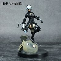 Ps4 Gioco Anime Figure Nier Automata Yorha No .2 Tipo B 2b Cartoon Toy Action Figure Model Doll Gift