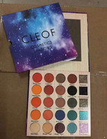 Newest CLEOF 24 colors eyeshadow palette makeup Ultra Pigmen...