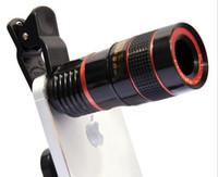 8x зум-объектив телескопа телефон объектив unniversal оптическая камера телефото телефон лен с зажимом для Iphone Samsung LG HTC Sony смартфон LLFA