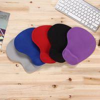 Tapis de souris 3D avec repose-poignet Support Protéger Gaming Tapis de souris Silicone Gel Main PU Anti-dérapant Hand oreiller Mémoire Tapis de coton pour calculer
