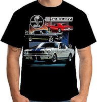 Velocitee Mens T-Shirt Autorizzato Shelby Mustang Cars Muscle Ford GT350 A17929