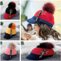 Baby Kids Caps Newest Autumn Winter Infant Baby Warm Woollen...