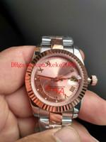Yüksek Kaliteli Saatı 36mm 31mm Lady 279171 18 K Rose Gold Roma Dial 2813 Hareketi Mekanik Otomatik Bayanlar Kadınlar İzle Saatler
