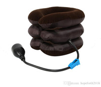 Neck Cervical Traction Device Inflatable Collar Household Eq...